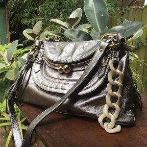 Bulga Metallic Silver Bag